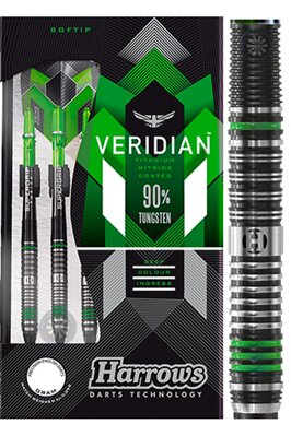 Harrows šipky Veridian 18g soft