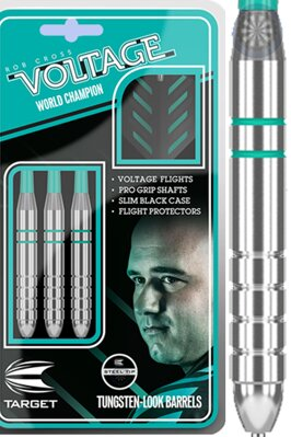 Target šipky Rob Cross silver voltage 24g steel
