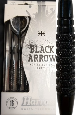 Harrows šipky black arrow 14gK