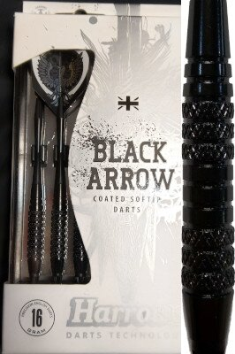 Harrows šipky black arrow 16gK2
