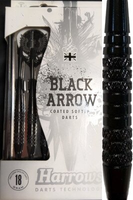 Harrows šipky black arrow 18gK2