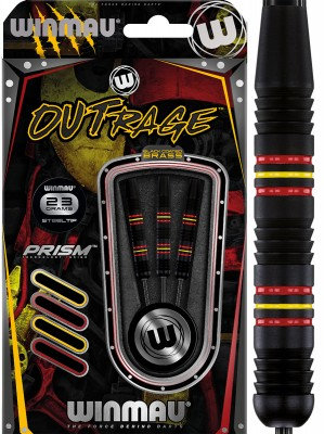 Winmau šipky Outrage steel 23g