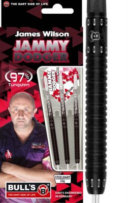 Bulls šipky James Wilson steel 22g