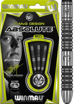 Winmau šipky Absolute steel 24g