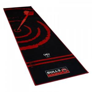 Bulls koberec Carpet Mat 140 Black/Red