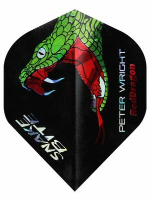 Red Dragon letky Peter Wright Snakebite Holographic RD4