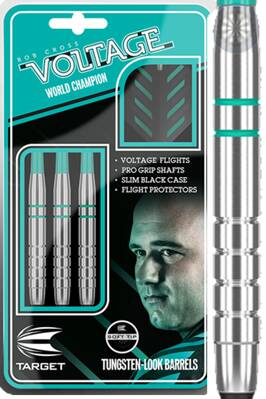 Target šipky Rob Cross silver voltage 18g soft