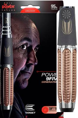 šipky Target Phil Taylor power 9five gen5 soft 20g