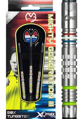 XQ Darts  šipky Van Gerwen mighty generation III 18g soft
