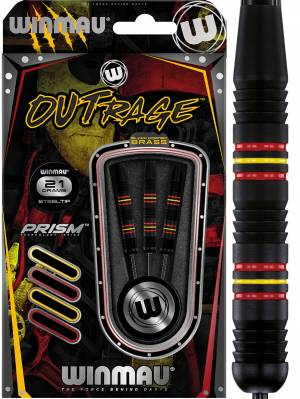 Winmau šipky Outrage steel 21g