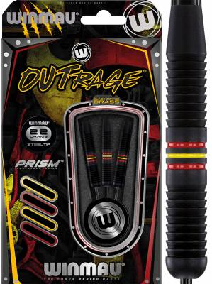 Winmau šipky Outrage steel 22g