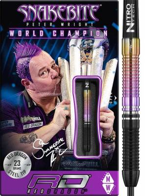 Red Dragon šipky Peter Wright World Champion steel 23g