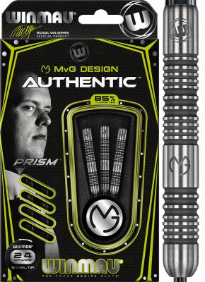 Winmau šipky Authentic steel 24g