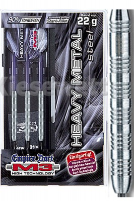 Empire šipky dart M3 Heavy Metal steel 22g