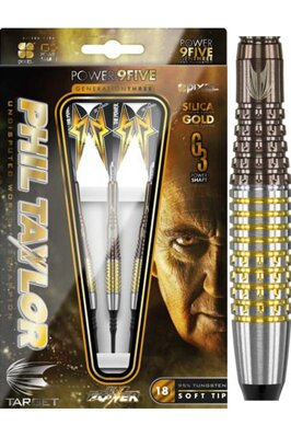 Target šipky Phil Taylor power 9five G3 soft 18g
