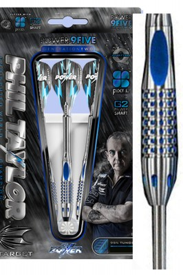 Target šipky Phil Taylor power 9five generation 2 steel 22g