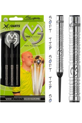XQ Darts šipky Van Gerwen orginals 18g soft
